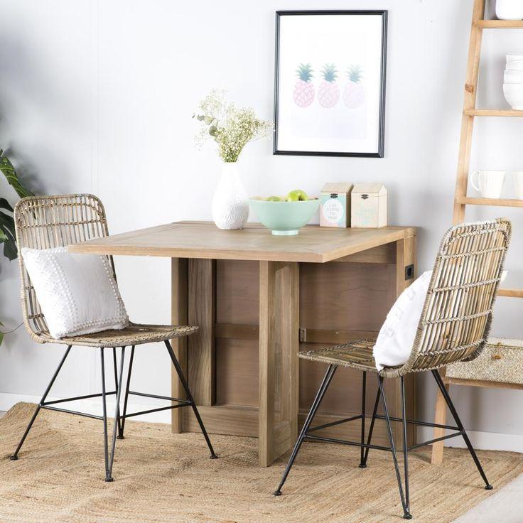 Las 25 mejores ideas sobre mesa plegable en pinterest - Mesa plegable pequena ...