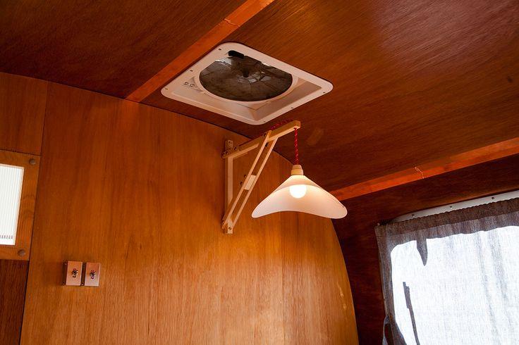 Mingu Mokuhei design paper craft lamp shade.
