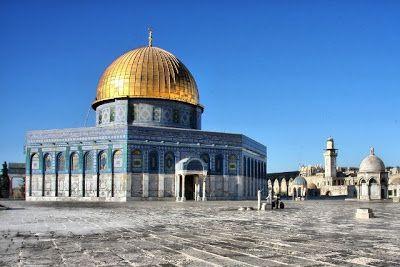 Cupula de la Roca en la Explanada de las Mezquitas
