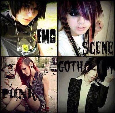 Emo Scene Punk Or Goth