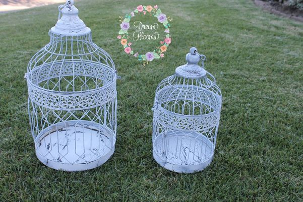 #weddingdecor #birdcages