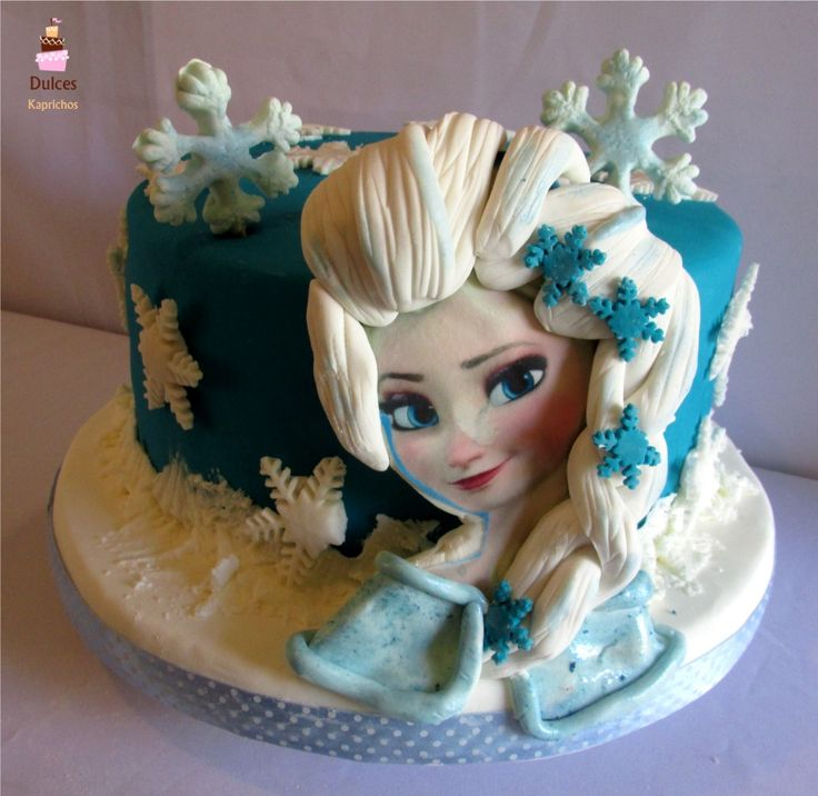 Torta Frozen #TortaFrozen #TortasDecoradas