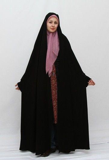 Persian Black chador Hijab Islam Abaya