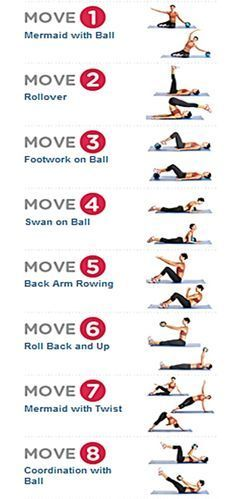 pilates exercises for beginners - Google Search