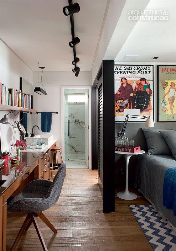 Marcenaria e climatização fazem da adega a estrela do apartamento - Casa