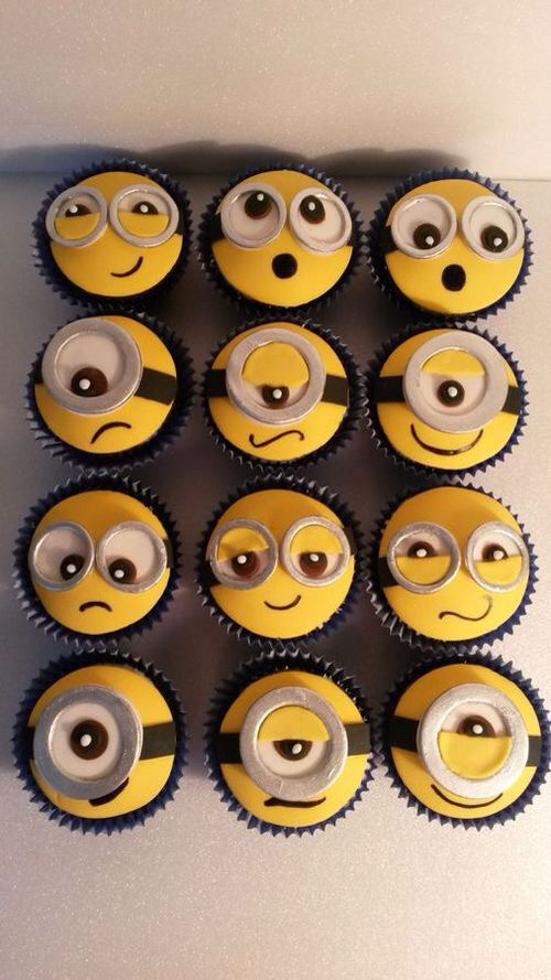 Cupcake / minions / movie / cute / kids / original / food