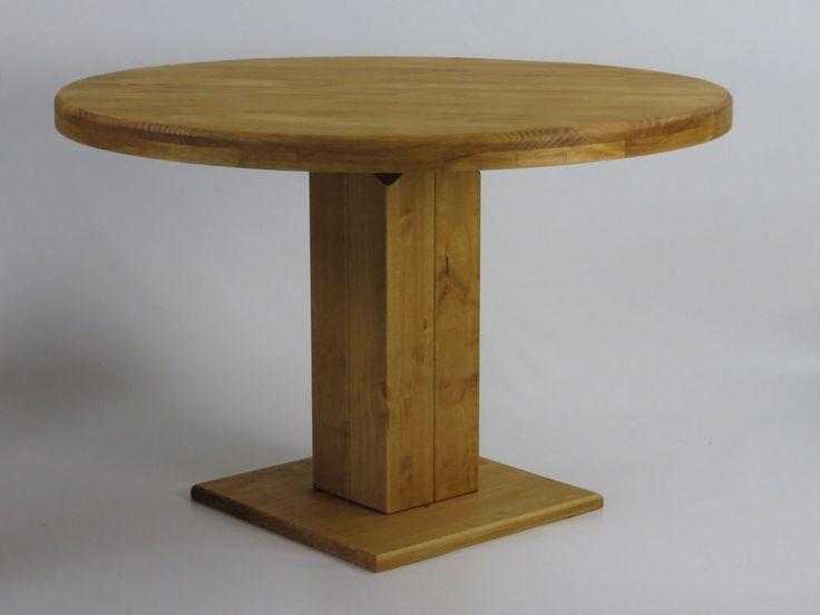 Säulentisch Rio Kolonial Pinie massiv Holztisch rund 100 cm Esstisch Tisch Hotel in Möbel & Wohnen, Möbel, Barhocker & Stehtische | eBay
