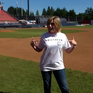 One of our great Vancouver Canadians mini league for Boys and Girls Clubs volunteers!