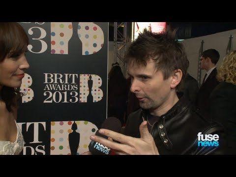 Matt Bellamy on BRIT Awards 2013