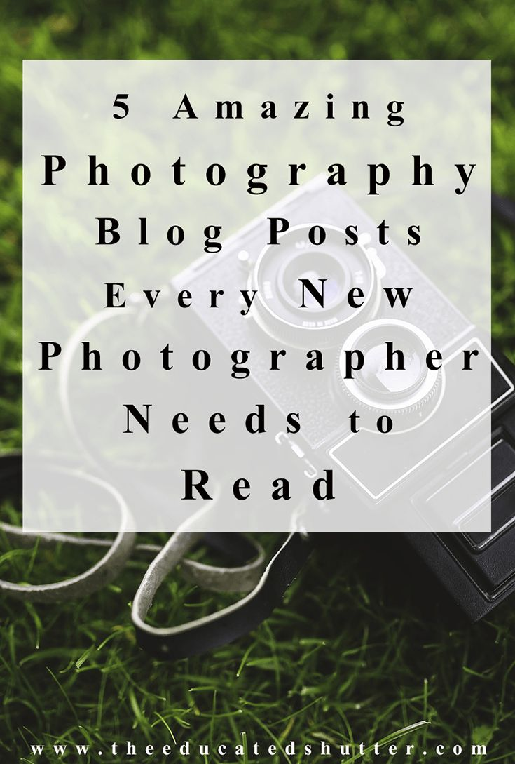 These 5 Photography Blog Posts could have saved me so much time and help me avoid so many mistakes! Every new photographer should read these 5 photography blog posts! Like now! :)