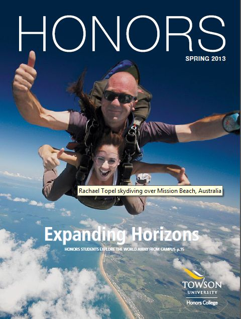 Check out the Spring 2013 issue of HONORS magazine. The entire issue is focused around study abroad!