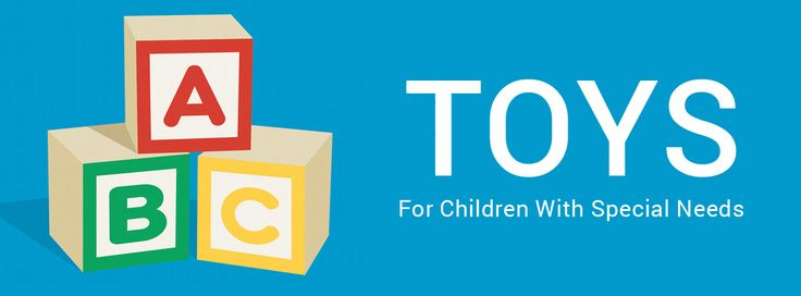 Toys for Children with Special Needs: What to look for and where to find them - Collection of 19 articles covers a wide range of needs.