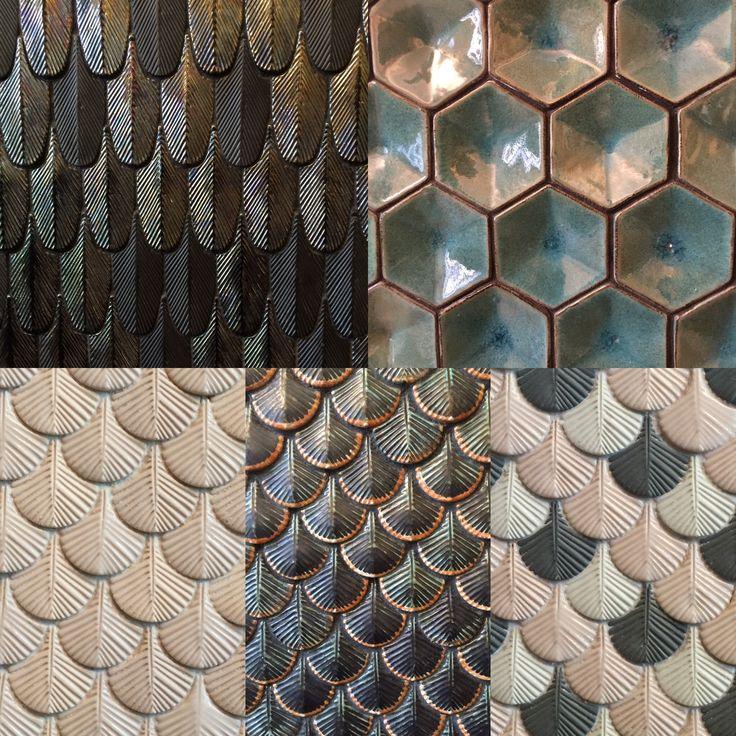 Tiles. Luxurious and lyric ceramic mosaic from Nove - Bassano, Northern Italy. www.botteganove.it Photo | Marta Bastianello 2016