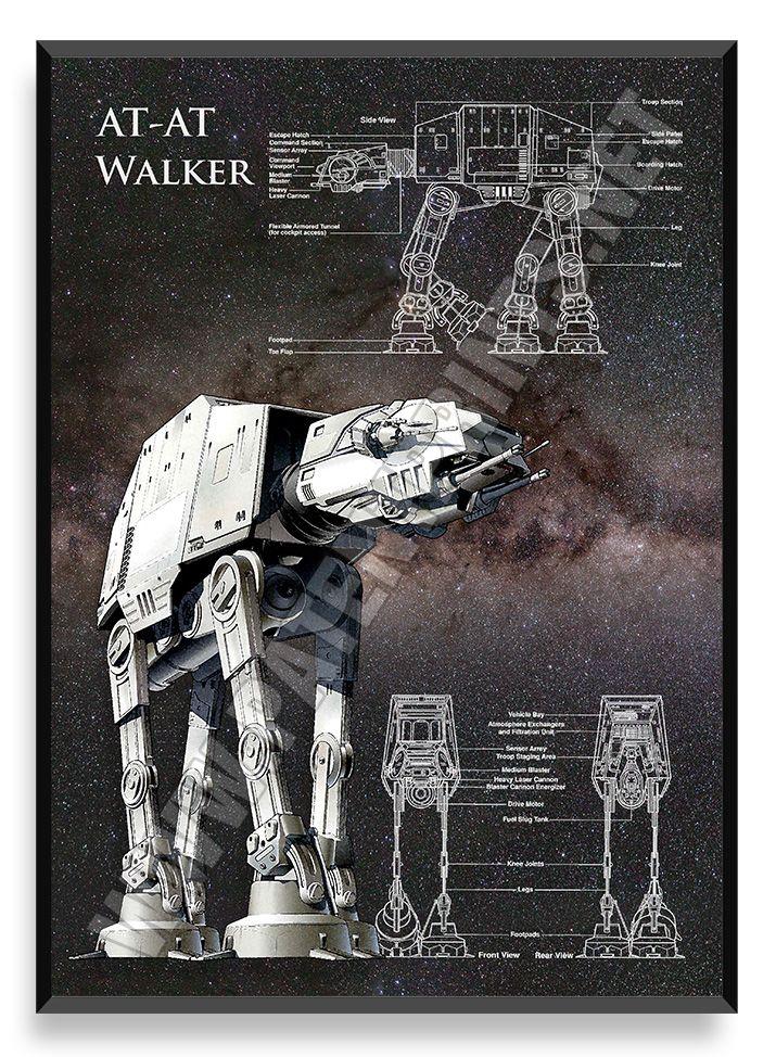 AT-AT Walker, Star Wars Poster