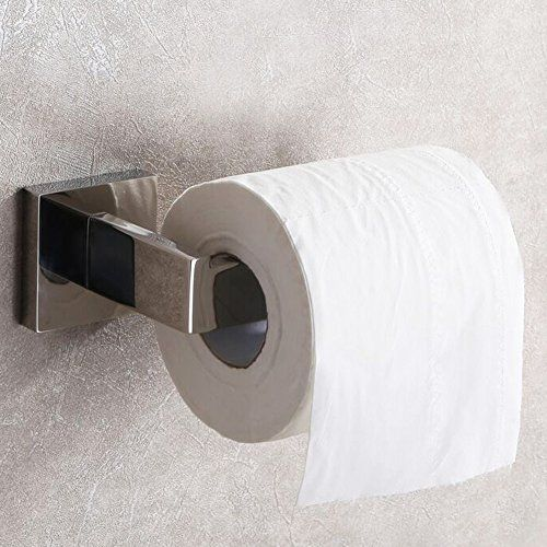 Bathroom Toilet Paper Holder, Angle Simple SUS304 Stainless Steel Lavatory Tissue Roll Holder Paper Roll Hanger Toilet Paper Bar Dispenser Wall Mount, Polished Chrome #Bathroom #Toilet #Paper #Holder, #Angle #Simple #Stainless #Steel #Lavatory #Tissue #Roll #Holder #Hanger #Dispenser #Wall #Mount, #Polished #Chrome #simplebathroom