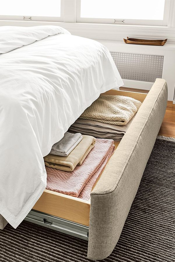 Emery Storage Bed Modern Storage Beds Beds For Small Spaces