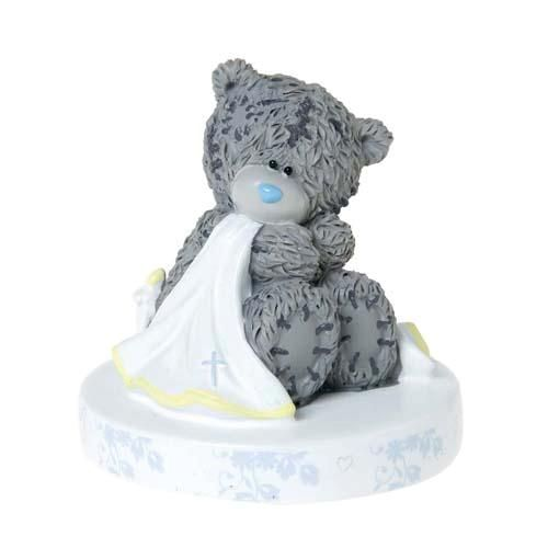 Hand Painted Me to You Bear Christening Figurine / Cake Decoration (G01Q5082) : Me to You Online - The Tatty Teddy Superstore.