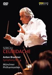 Bruckner: Symphony No.4 (Herkulessaal Munich 1983) (Arthaus: 101645) (Münchner Philharmoniker/ Sergiu Celibidache)  Artist:Münchner Philharmoniker  Label:Arthaus  Format:1DVD  Cat No:101645