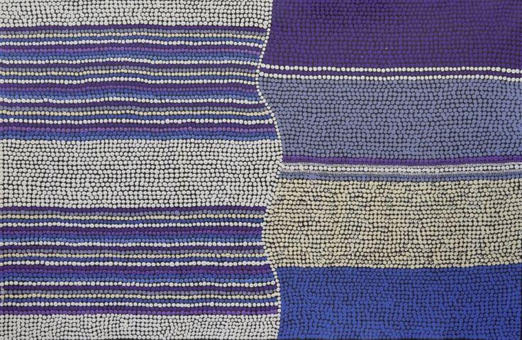 Dark Sea, Amanda Conway-Jones 89x59 cm   #AboriginalArt