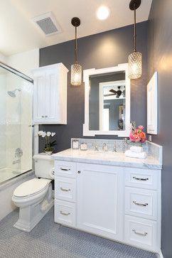 Accent tile around sink? Coto de Caza III - traditional - Bathroom - Orange County - Blackband Design