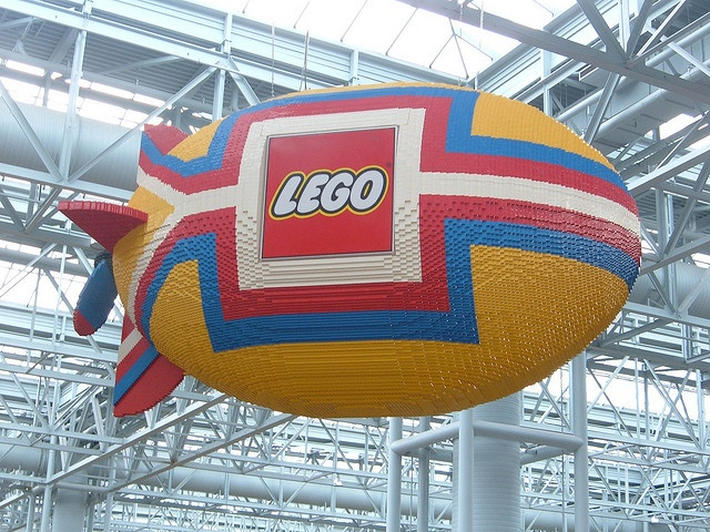 Lego Blimp at the Mall of America by Kevin Borland, via ...