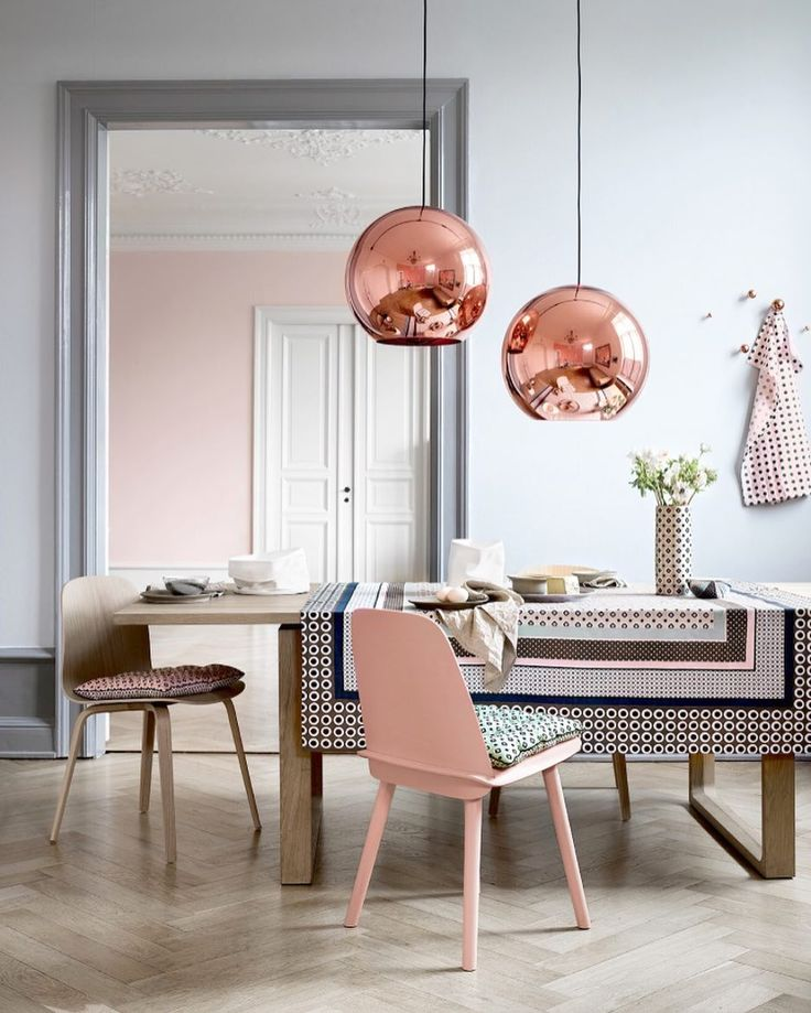 Copper Shade by Tom Dixon is created by exploding a thin layer of pure  metal onto