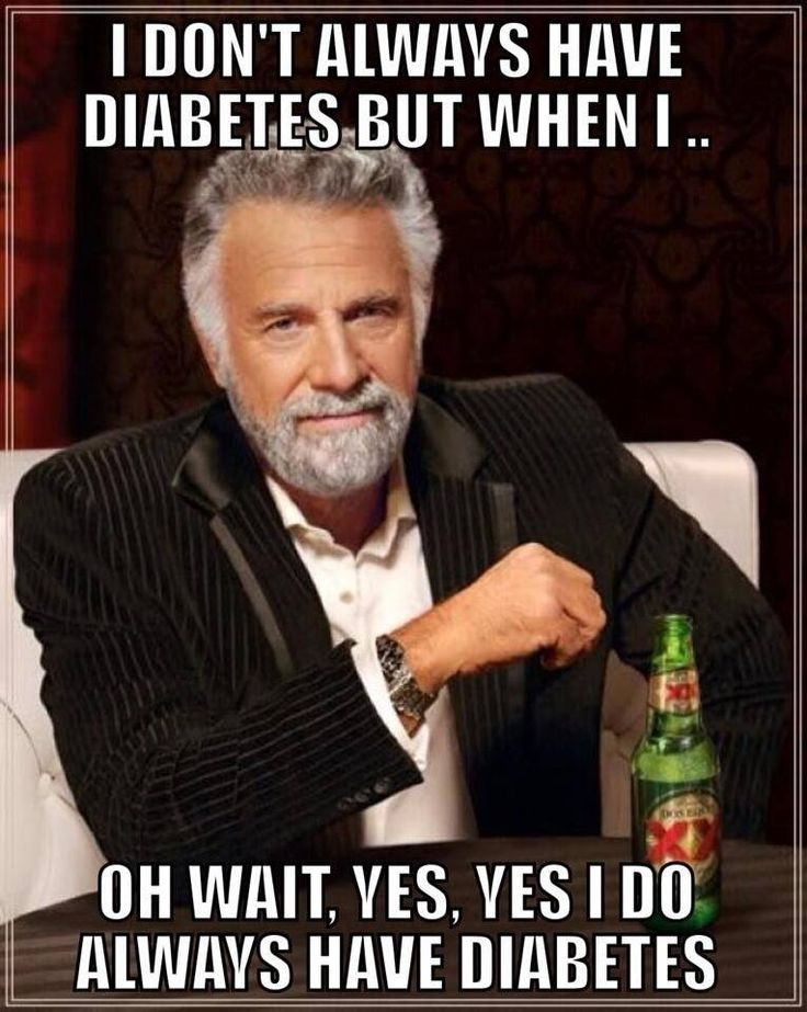 I Do Always Have Diabetes . . .