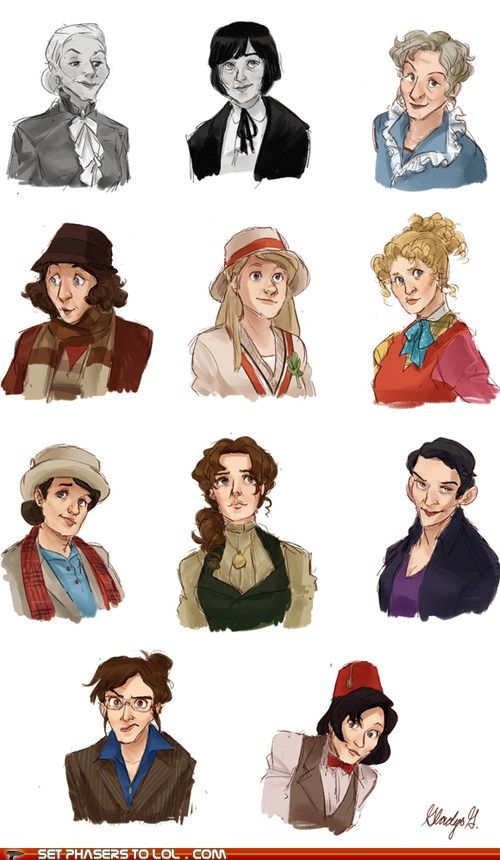 What if the Doctor was a woman...?// I can't stop laughing at Nine... OMG
