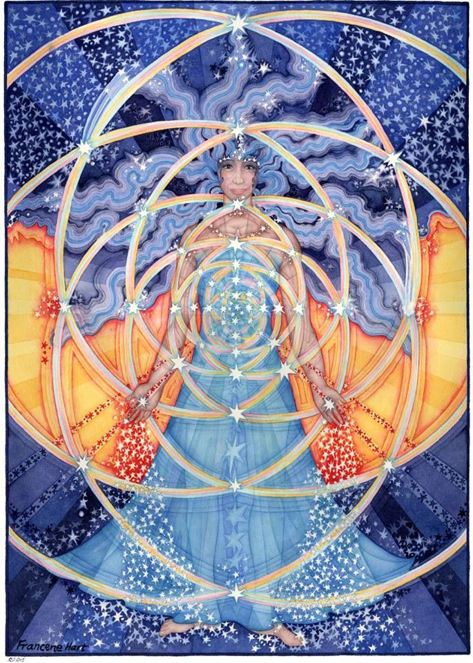 Francene Hart / Divine Feminine / Sacred Geometry <3