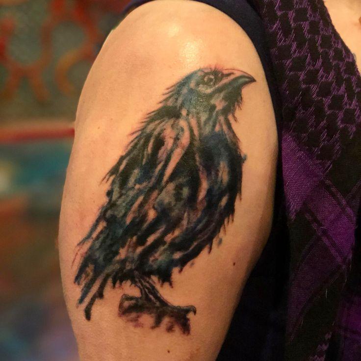 Blackbird singing in the dead of night by erin grady at