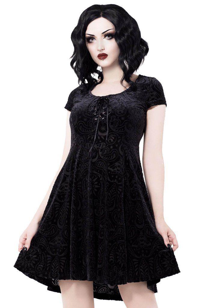 7e2ab92223 Angelyn Burnout Velvet Dress  B  in 2018