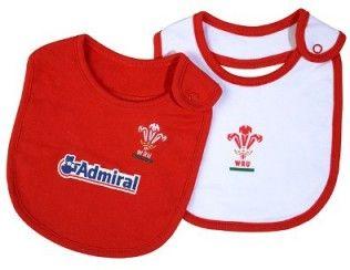 Wales WRU Rugby 2 Pack Bibs - £7.99