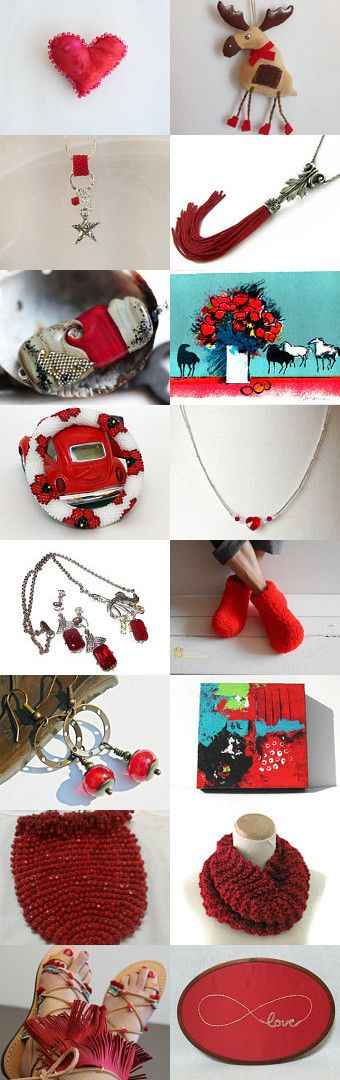 RED by Dei Dreams on Etsy--Pinned with TreasuryPin.com