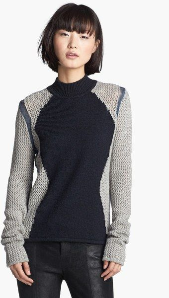 Helmut Lang Abstract Detail Sweater