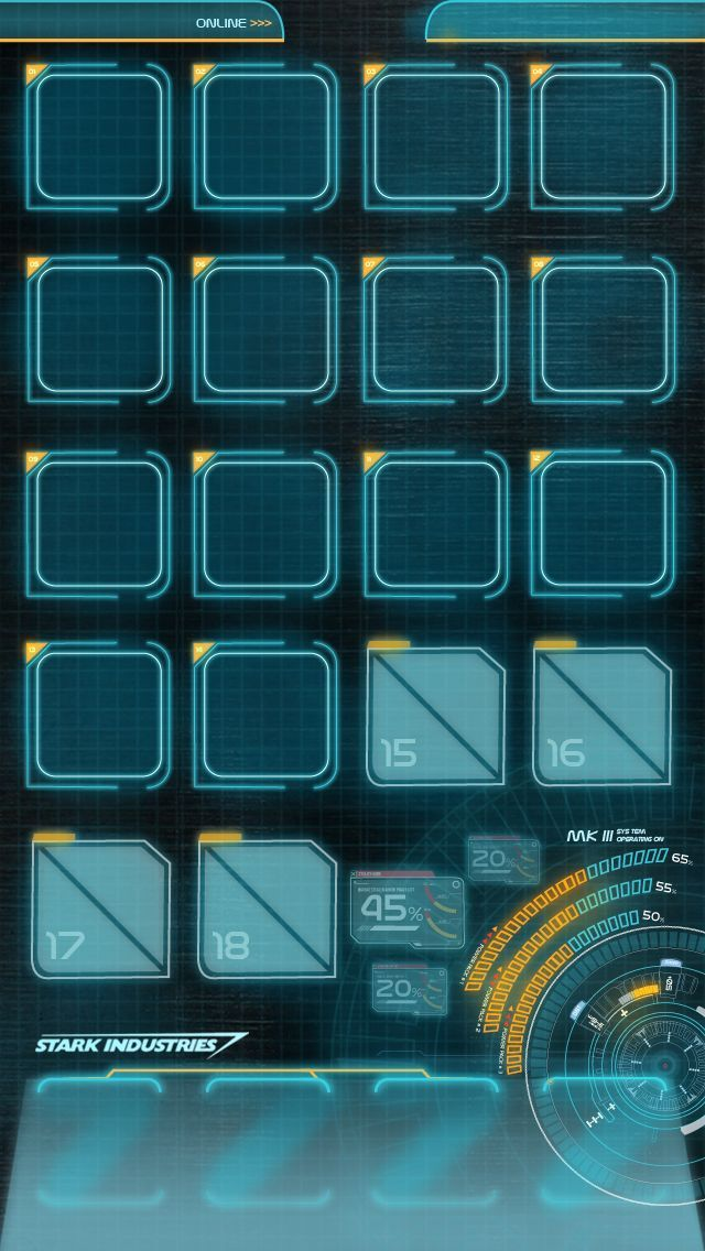 Jarvis Mark 3 Iphone 5 Homescreen Wallpaper By Hyugewb On