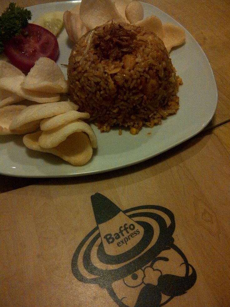 fried rice at Baffo Express