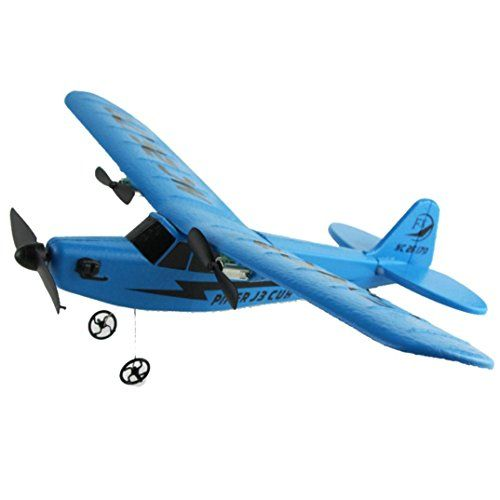 RC Helicopter Plane,Byste Remote Control Glider Airplane EPP Foam 2CH 2.4G Educational Toys for Kids (Blue) - http://quadcopter-drones.co.uk/product/rc-helicopter-plane-byste-remote-control-glider-airplane-epp-foam-2ch-2-4g-educational-toys-for-kids-blue/