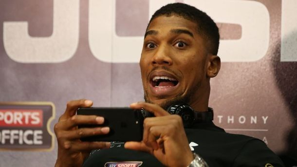 """Anthony Joshua: """"Fight with Tyson? I would take the check and have lain down, as in fight with Klichko&quot"""