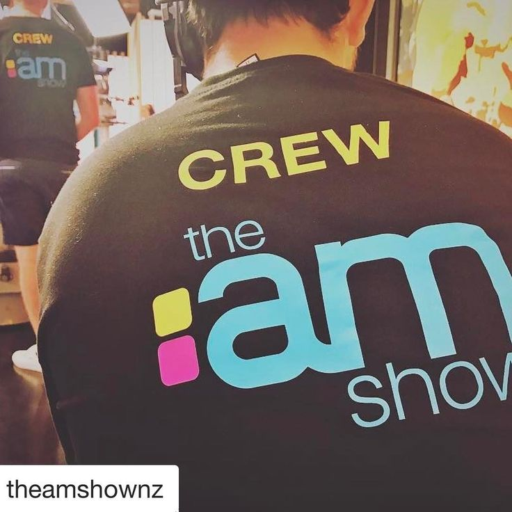About to head on to this show to chat nutrition and kids and parents #Repost @theamshownz with @repostapp