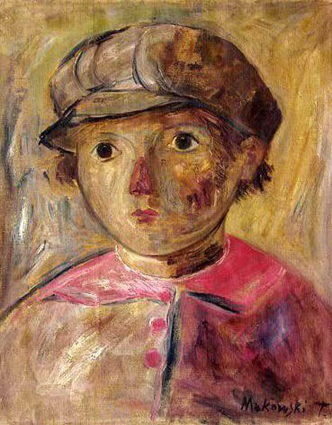 Tadeusz Makowski - Portrait of a boy