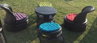 Image result for tyres furniture