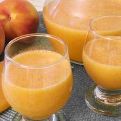 Diabetic Fresh Peach Juice Recipe recipe