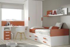 Dormitorio infantil juvenil moderno, 43-16 -