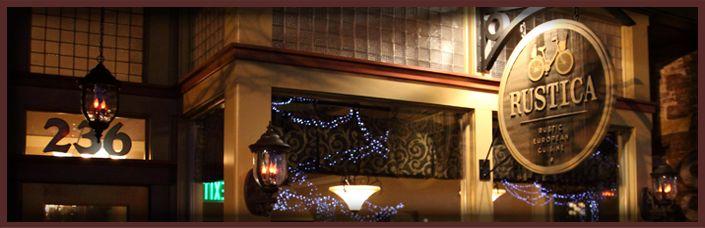 Rustica Kalamazoo in Kalamazoo, Michigan - highly recommend this restaurant
