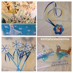 Disney FROZEN Party Decor Ideas! Come organizzare una festa di compleanno a tema Frozen.