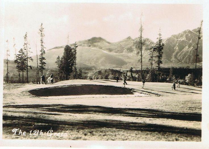 Jasper Park Lodge golf course - Hole # 12 - Tete Jaune