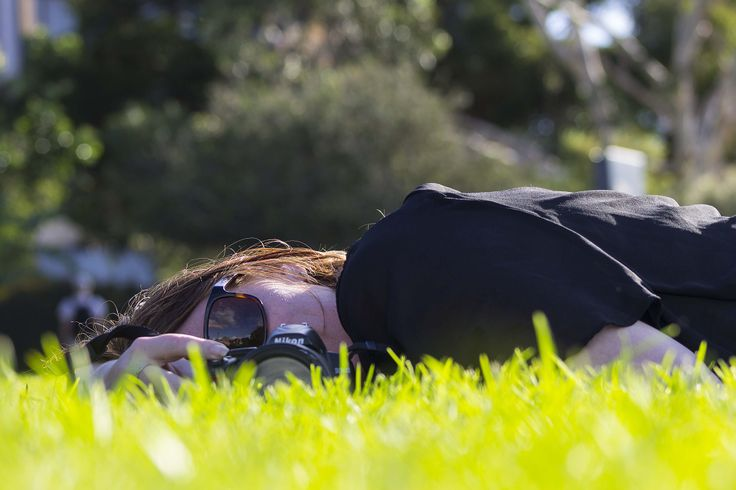 Just relaxing on the grass and enjoying the beautiful sunny day - David's Class