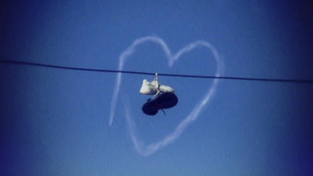 """Mathew Bates, director of """"Mystery of the fling Kicks"""",  reveals the different urban myths surrounding the practice of shoe-tossing, or """"shoefiti."""" A quick list of claims people make about what it actually..."""