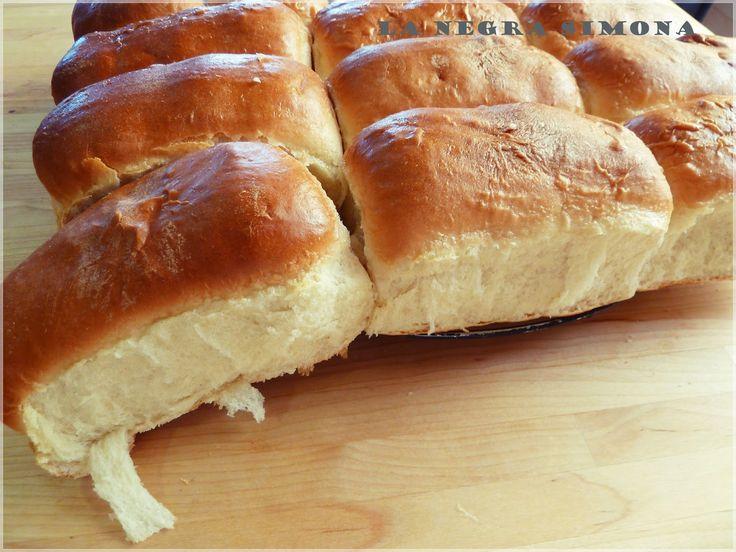 La negra simona: Pan de pebetes o pan de leche