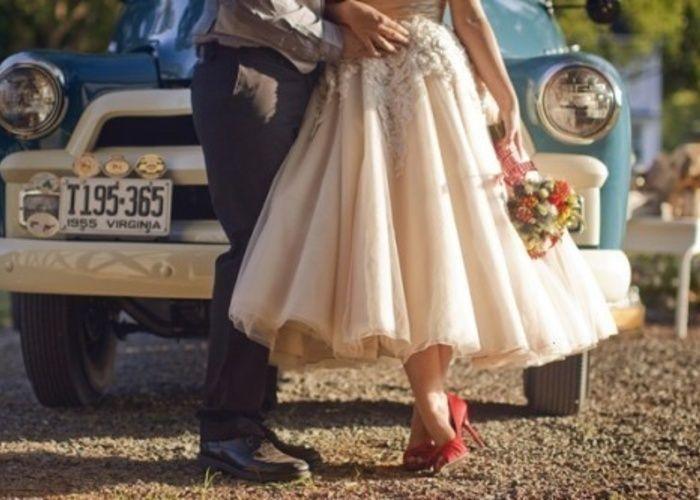 ミモレ丈が可愛いwedding dressをあつめました♡